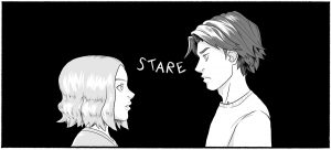 Annie and Jonah stared silently at each other for a moment.